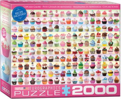 EuroGraphics Cupcakes Galore 2000-Piece Puzzle