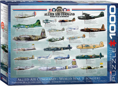EuroGraphics History of Aviation 1000-Piece Puzzle