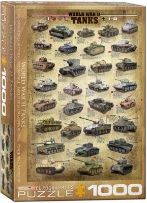 EuroGraphics World War II Aircraft 1000-Piece Puzzle