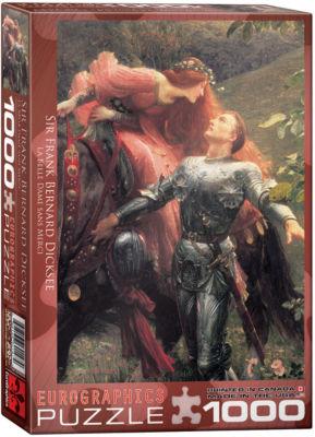 EuroGraphics The Kiss by Francesco Hayez 1000-Piece Puzzle
