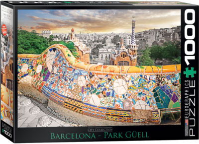 EuroGraphics San Antonio River Walk 1000-Piece Puzzle
