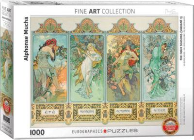 EuroGraphics Van Gogh Selfies by Vincent van Gogh1000-Piece Puzzle