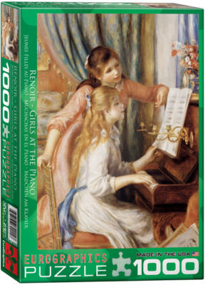 EuroGraphics The Fulfillment (Detail) by Gustav Klimt 1000-Piece Puzzle