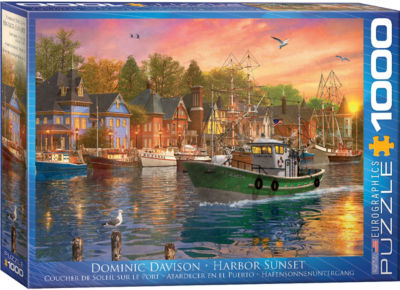 EuroGraphics Nordic Morning by Dominic Davison 1000-Piece Puzzle