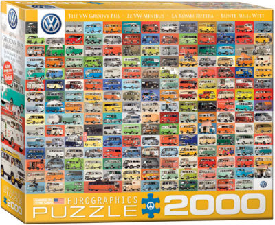EuroGraphics The VW Groovy Bus 2000-Piece Puzzle