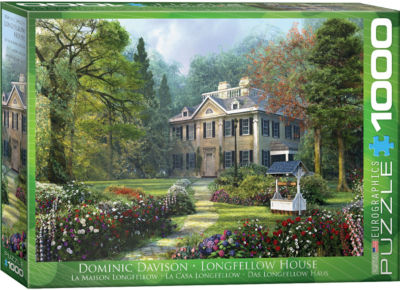 EuroGraphics The Fishing Cabin by Dominic Davison1000-Piece Puzzle