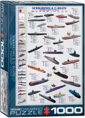 EuroGraphics World War I Aircraft 1000-Piece Puzzle