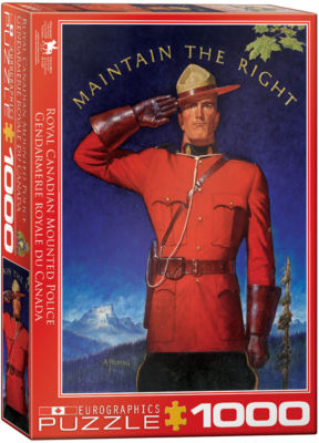 EuroGraphics The Canadian by Roger Cuillard 1000-Piece Puzzle
