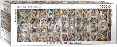 EuroGraphics The Sistine Chapel Ceiling by Michelangelo 1000-Piece Puzzle