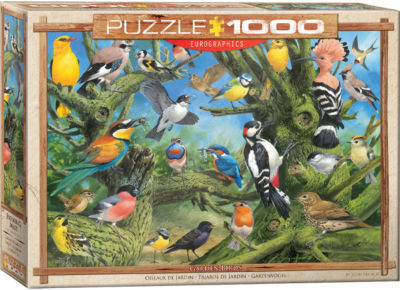 EuroGraphics Puppies 1000-Piece Puzzle
