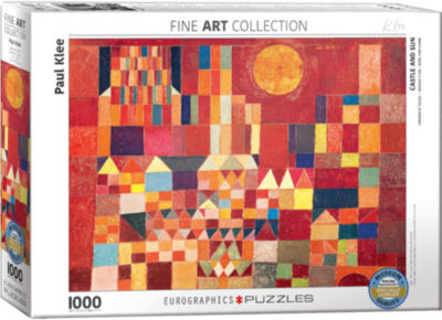 EuroGraphics The Tilled Field by Joan Miró 1000-Piece Puzzle