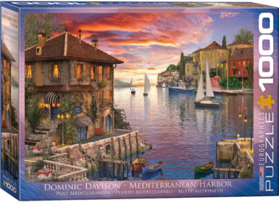 EuroGraphics The Old Lighthouse by Dominic Davison1000-Piece Puzzle
