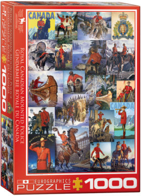 EuroGraphics Railroad Adventures 1000-Piece Puzzle