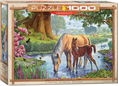 EuroGraphics Polar Bear & Baby 1000-Piece Puzzle