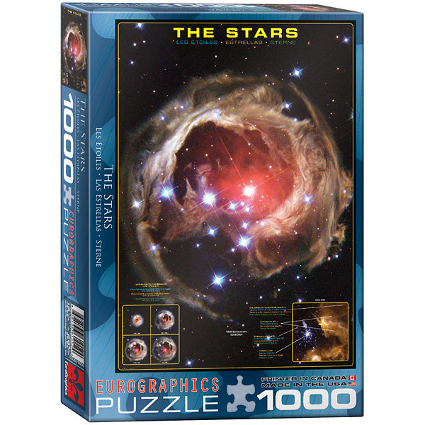 EuroGraphics Space Explorers 1000-Piece Puzzle