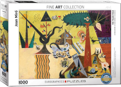 EuroGraphics Soft Watch At Moment of First Explosion by Salvador Dalí 1000-Piece Puzzle
