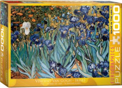 EuroGraphics Sunflower by Vincent van Gogh 1000-Piece Puzzle