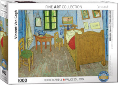 EuroGraphics Twelve Sunflowers by Vincent van Gogh1000-Piece Puzzle