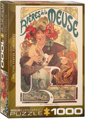 EuroGraphics Vintage Posters 1000-Piece Puzzle