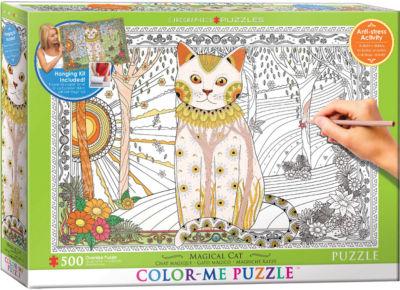 EuroGraphics Magical Cat 500-Piece Puzzle