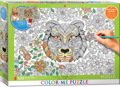 EuroGraphics Tiger 500-Piece Puzzle