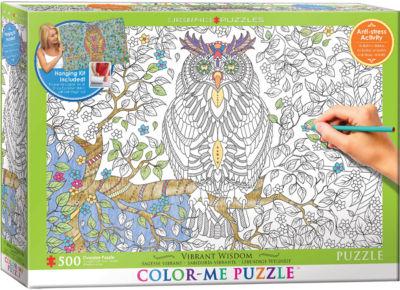 EuroGraphics Vibrant Wisdom 500-Piece Puzzle