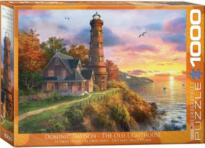 EuroGraphics Autumn Church by Dominic Davison 1000-Piece Puzzle