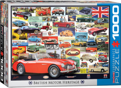 EuroGraphics American Cars of the 1930s 1000-PiecePuzzle