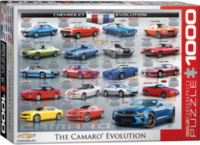 EuroGraphics Ford Mustang 50 Years 1000-Piece Puzzle