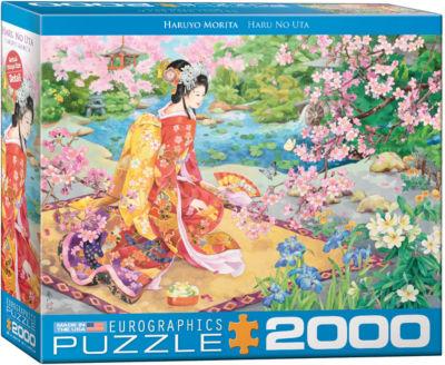 EuroGraphics Haru No uta by Haruyo Morita 2000-Piece Puzzle