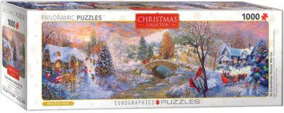 EuroGraphics To Grandma's House We Go panaramic byNicky Boheme 1000-Piece Puzzle