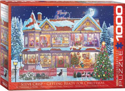 EuroGraphics New England Christmas Stroll by Dominic Davison 1000-Piece Puzzle