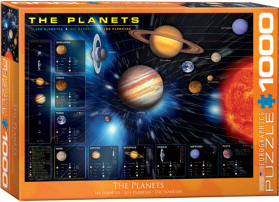 EuroGraphics Walk on the Moon 1000-Piece Puzzle