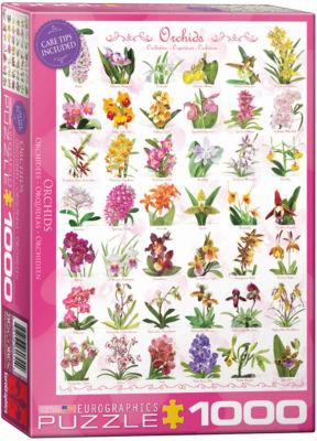 EuroGraphics Teapots 1000-Piece Puzzle