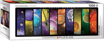 EuroGraphics The Solar System 1000-Piece Puzzle