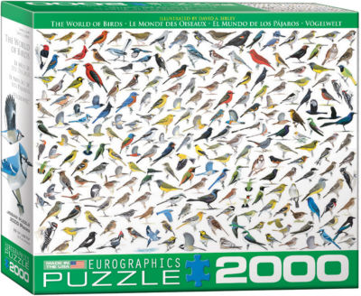 EuroGraphics The World of Birds by David Sibley 2000-Piece Puzzle