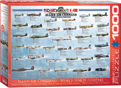 EuroGraphics Military Helicopters 1000-Piece Puzzle