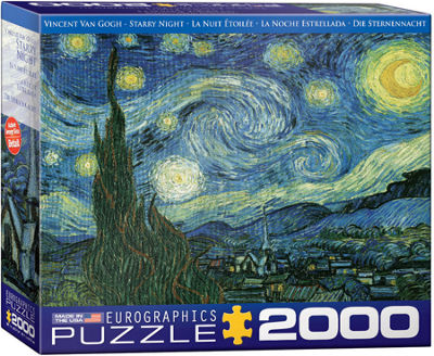 EuroGraphics Starry Night by Vincent van Gogh 2000-Piece Puzzle