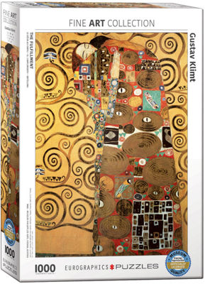 EuroGraphics The Kiss (Detail) by Gustav Klimt 1000-Piece Puzzle