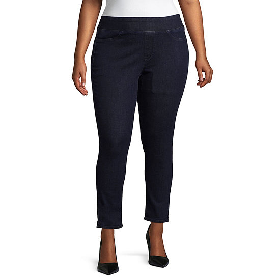 de15911072a Boutique + Pull on Jeggings Plus JCPenney