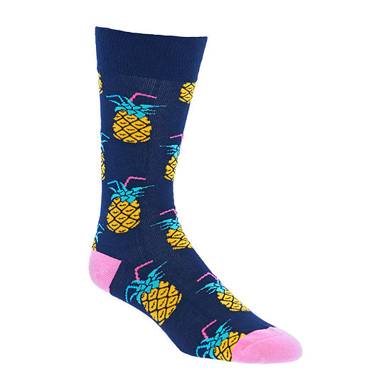 Fun Socks 1 Pair Crew Socks-Mens