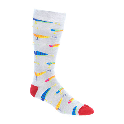 Fun Socks 1 Pair Crew Socks-Mens