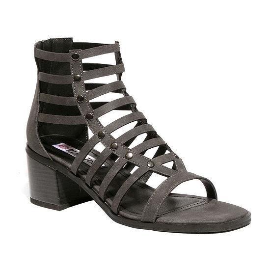 2 Lips Too Womens Mina Heeled Sandals