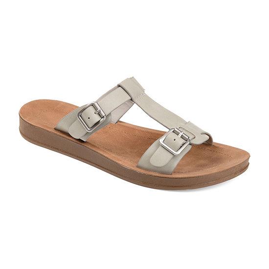 Journee Collection Womens Alice Slide Sandals