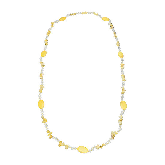 Mixit 46 Rope Womens Beaded Necklace