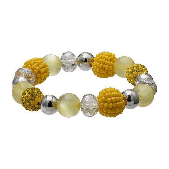 Mixit Seedbead Ball Stretch Bracelet