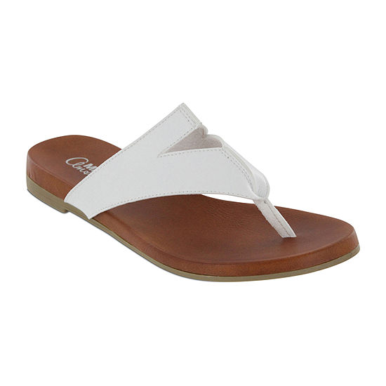 Mia Amore Womens Patriciaa Slide Sandals