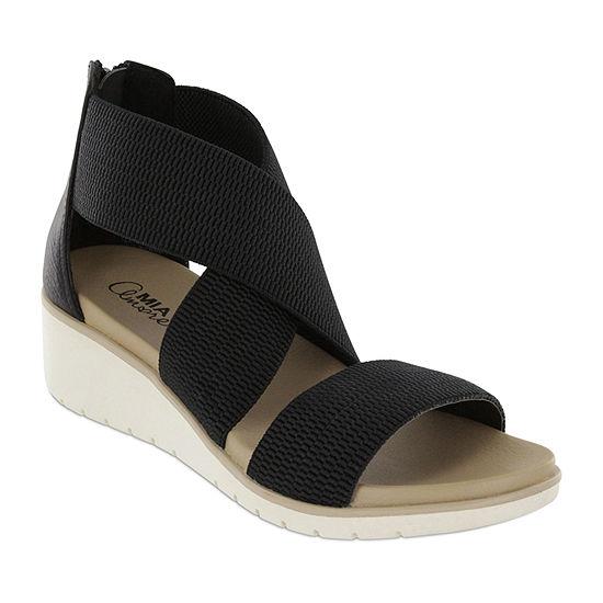 Mia Amore Womens Casandraa Flat Sandals