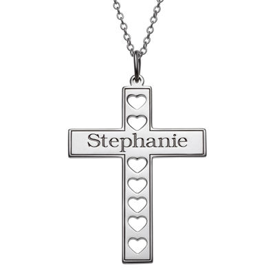 Personalized Womens Pendant Necklace