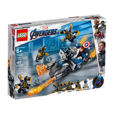 Lego Avengers Endgame Captain America Outriders Attack 76123